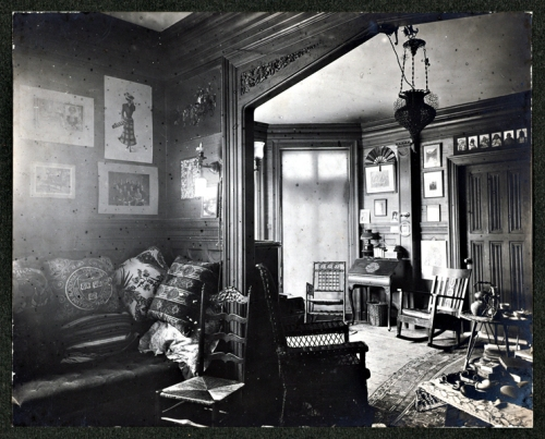 Archive Photograph of a Typical Contemporary Suite; Photo Courtesy Michael Weishan