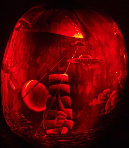 Pumpkin Carving copyright Jeff Stikeman 2010